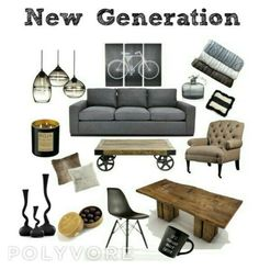 A home decor collage from July 2016 Interior Decorating, Interior Design, Eames, Lounge, Interiors, Chair, Polyvore, Furniture, Home Decor