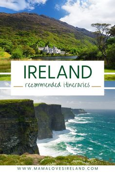Recommended Ireland itineraries you can use on your own perfect Ireland trip. Best Ireland itineraries to see the best of Ireland and plan the perfect Irish road trip Time In Ireland, Best Of Ireland, Love Ireland, Ireland Vacation, Ireland Travel, Local Moms, Short Break, Amazing Destinations, Trip Planning