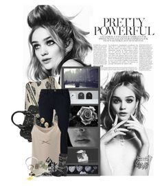"""""""Pretty Powerful"""" by xshadesofblackx ❤ liked on Polyvore featuring Anja, Alexander McQueen, LEFF Amsterdam, Frame Denim, NOVICA, Uniqlo, Aesop, Casetify, Jeffrey Campbell and Wildfox"""