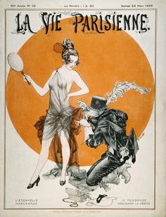 French Magazine Cover Photograph by Granger