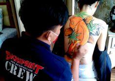 Body Painting Koi Fish Yakuza Jakarta  #dickspaint #bodyart #bodypaint #bodypainting #bodyartjakarta #bodypaintingjakarta #indonesia #ladyyakuza #hotwoman #photosession #hot #girls #painting #bandung #bali #mua #Muaindonesia #muajakarta #facepaintingjakarta