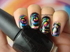 Intense Polish Therapy: Glam My Mani - Swirl Nail Vinyls | NailPolishCanada