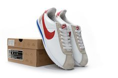 Nike Classic Cortez White Red Shoes - $56.99 | nike shoes | Scoop.it