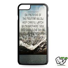 Ed Sheeran Lyric iPhone 6 Plus Case | iPhone 6S Plus Case