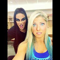 Nia Jax & Alexa Bliss