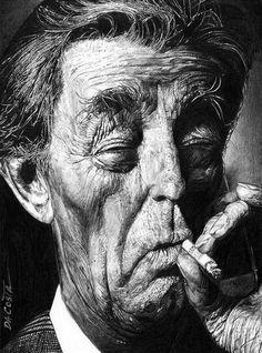[ Robert Mitchum ] - artist: Charles Da Costa - website: http://chadacosta44.blogspot.com