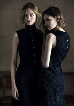 Hedvig Palm and Fia Ljungstrom by Elisabeth Toll