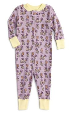 Hanna Andersson Fitted Coveralls (Baby Girls)