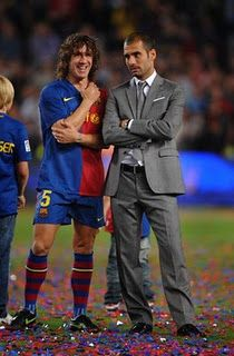 FC Barcelona soccer coach, Pep Guardiola, so handsome and well dressed!