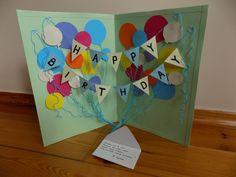 birthday card/ kartka urodzinowa DIY,