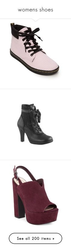 """""""womens shoes"""" by saltlakecitywerido ❤ liked on Polyvore featuring shoes, bubblegum, boots, ankle booties, casual, casual shoes, black booties, black lace up booties, lace up booties and black laced booties"""