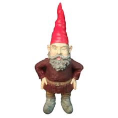 H Giant Merlin The Garden Gnome Statue Gnome Hat 2c70a4fcd