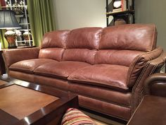 Leather Sofa From Randall Allen. Furniture ...