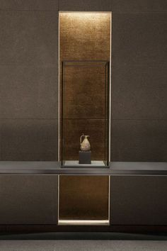 Interior Design Museum of Islamic Art Jean-Michel Wilmotte Design Entrée, Lobby Design, Deco Design, Home Design, Wall Design, Niche Design, Design Room, Design Trends, Design Ideas