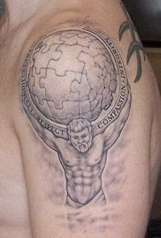 Atlas tattoo.....I'm thinking I'd like something related, maybe copied from a 19th c engraving