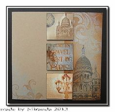 'Mir'acle Art Inspirations: Mini stamps inspirations Chocolate Baroque...........