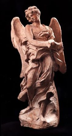 Angel of the Crown of Thorns by Gian Lorenzo Bernini