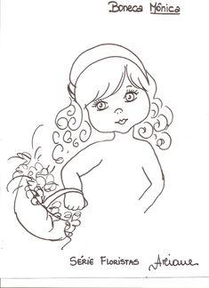 Pintura em Tecido Passo a Passo: Como pintar rosto de boneca para pano de prato