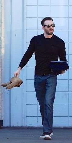 Chris Evans in Hollywood 9.18.14