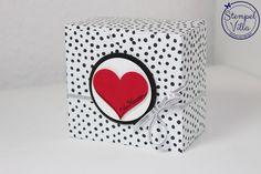 Stanz- und Falzbrett für Geschenktüten, Gift Bag Punch Board, Stempelset Mit Liebe geschenkt, You're So Sweet