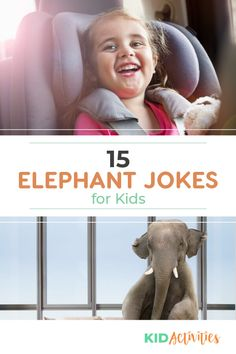 15 Funny Elephant Jokes for Kids - Kid Activities Kid Jokes, Funny Jokes For Kids, Silly Jokes, Funny Knock Knock Jokes, Brain Teasers For Kids, Funny Riddles, Funny Elephant, Cheesy Jokes, Clean Jokes