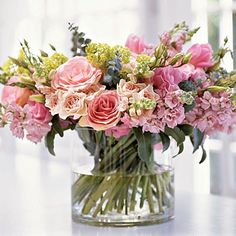 Sometimes I get color scheme ideas for rooms from flower arrangments.  Visit my color palette board for ideas!  By Kimberly McCluskey