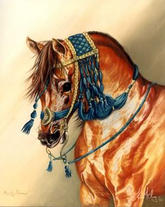 Beauty Adorned -- The Equine Art of Kim McElroy http://www.spiritofhorse.com/store/store/archive.asp