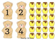 Nauczyć Ich Latać, dekoracje, przedszkole Preschool Classroom, Kindergarten, Teddy Bear Day, Bear Crafts, School Posters, Kids Artwork, Diy Christmas Cards, Book Projects, Toddler Crafts