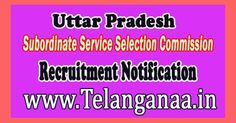 Uttar Pradesh Subordinate Service Selection Commission UPSSSC Recruitment Notification 2016 -- 672 Tubewell Mistry Vacancies – Last Date ...