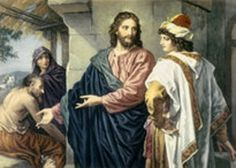 """February 27th - Mark 10:17-27: Jesus, looking at him, loved him and said to him, """"You are lacking in one thing. Go, sell what you have, and give to the poor and you will have treasure in heaven; then come, follow me."""" At that statement, his face fell, and he went away sad, for he had many possessions."""