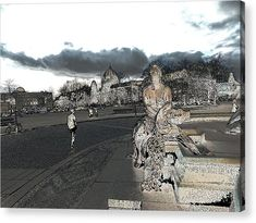 Illustration Acrylic Print featuring the mixed media Neptunbrunnen Illustration by Cuiava Laurentiu Berlin City, Thing 1, Acrylic Sheets, Got Print, Any Images, How To Be Outgoing, Clear Acrylic, Fine Art America, Mixed Media