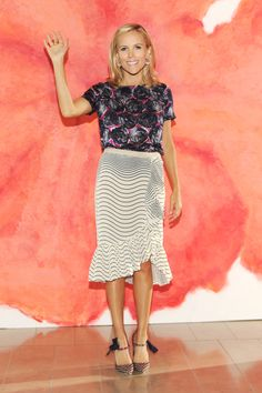 Tory Burch at her Spring 2012 Show