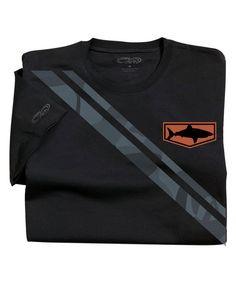 Manoflage Flag - Jet Black Pima Shirt