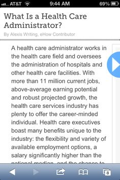 Health care schooling and career question?