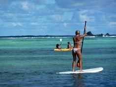 ❤ Paddle boarding!! Great core workout!!    #Paddleboardshop #paddleboard #paddleboarding