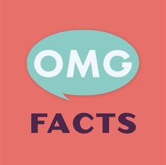OMG Facts is brought to you by Dose. an online media company with a mission to educate, entertain, and inspire.