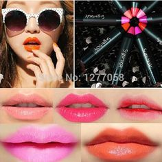 001# ~012# Female cosmetics Mini lipstick pen full Matte Lip Gloss beautiful sexy lipstick cosmetics 12 colors Sugarbox S 06#-in Lipstick from Health & Beauty on Aliexpress.com | Alibaba Group