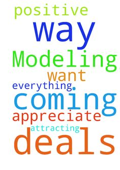 Modeling deals is coming my way! Thank God! I am a - Modeling deals is coming my way Thank God I am a positive being and I am attracting everything I want I appreciate it all Posted at: https://prayerrequest.com/t/NAR #pray #prayer #request #prayerrequest