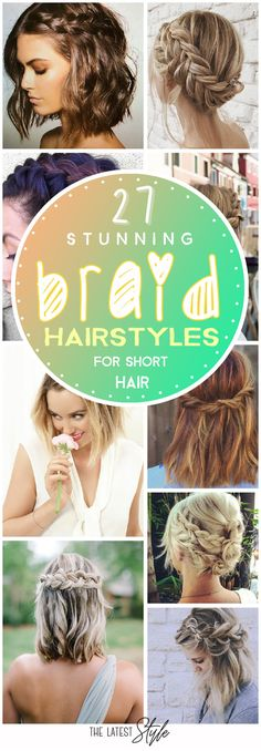 Not only are braid hairstyles for short hair trending right now, but much easier to maintain. Every woman with short hair knows how much less product goes into her daily ... Read More