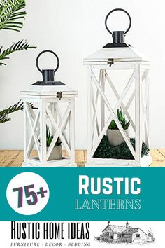 Rustic lanterns are a great accessory to decorate with and add a charming touch at a very low cost. View our large selection of styles, sizes and finishes. Find the perfect one for your design. Rustic Lanterns, Invitation Design, Furniture Decor, Are You The One, Touch, Home, Style, Swag, Ad Home