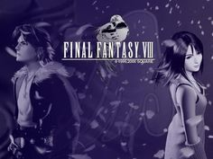 All Final Fantasy Info: Final Fantasy VIII Squall and Rinoa Wallpaper