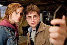 Harry Potter taking selfie