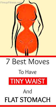 7 Best Moves To Have Tiny Waist And Flat Stomach