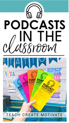 Using Podcasts in the Classroom is part of Teaching classroom - Podcasts in the classroom are so fun and engaging! Have you jumped on the podcast train yet ! I have a great system for using podcasts in the classroom 5th Grade Classroom, Middle School Classroom, Flipped Classroom, English Classroom, Teaching 5th Grade, Teaching Gifted Students, Middle School Advisory, Sixth Grade Reading, 5th Grade Ela