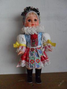 KROJOVANÁ  PANENKA  -  BORŠICE Vintage Dolls, Harajuku, Retro, Toys, Style, Fashion, World, Activity Toys, Swag
