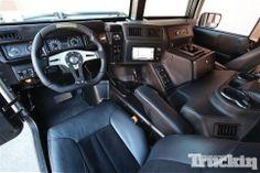 2001 Hummer H1 Interior