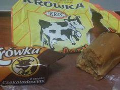 Hasta q no hayas probado krówka no sabes lo q es verdadero caramelo de cafe con leche, son otro mundo, con o sin chocolate