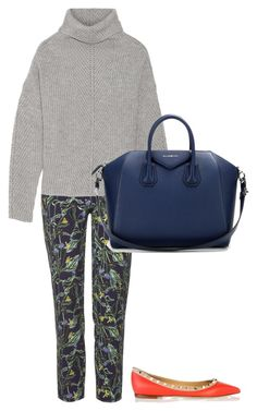 """""""Untitled #60"""" by amelia-cave ❤ liked on Polyvore featuring Topshop, Maje, Givenchy and Valentino"""