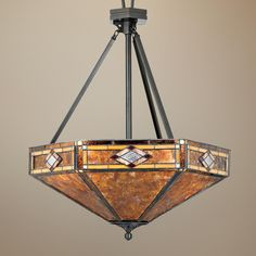 """Museum of New Mexico 24"""" Wide Pendant Chandelier -"""
