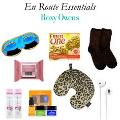 What Roxy of Society Social packs for her MANY travels >> http://www.hithaonthego.com/en-route-with-roxy-owens/